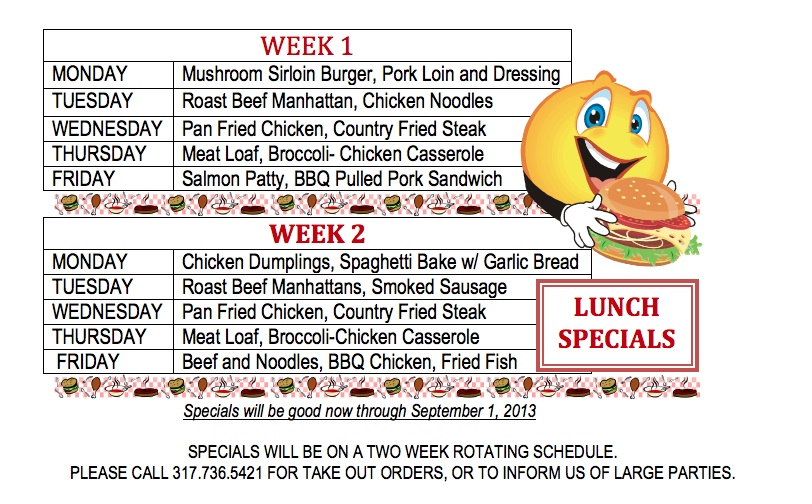 Anns Daily Specials